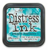Peacock Feathers Distress Ink Pad TIM34933