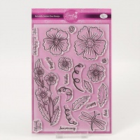 Periwinkle Garden Stamp Set Dawn Bibby Collection