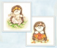 Picking Flowers - Hedgerow Friends Toppers - Flower Soft