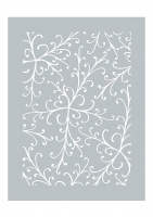 Pretty Flourish Stencil Dawn Bibby Collection DBST09