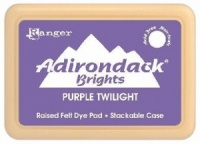 Purple Twilight Brights Adirondack Felt Dye Ink Pad Ranger ABP07180