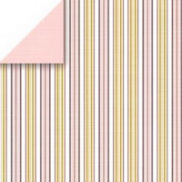 Ribbon Stripe Scrapbook Walls Chatterbox 24508