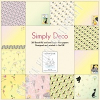 Simply Deco - 8'' x 8'' Paper Pad - Design House