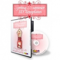 Spring and Summer 3D Templates CD Rom