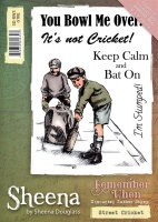 Street Cricket Stamp Set Remember When Collection