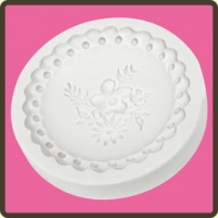 Victorian Garden 3 Cupcake Topper Food Safe Mould