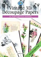 Vintage 3D Decoupage Papers - Search Press