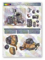 What A Picture Photography Decoupage Sheet La Pashe Value Collection