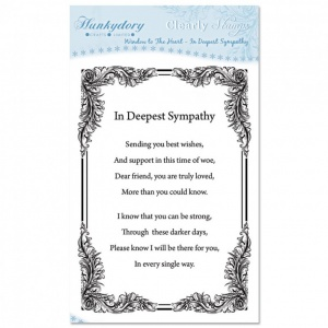In Deepest Sympathy Clear Stamp Set