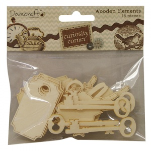 Curiosity Corner Wooden Elements Dovecraft DCWC003