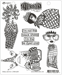 Black Sheep Stamp Set Dylusions DYR46189