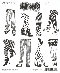 Legs Eleven Dylusions Stamp Set