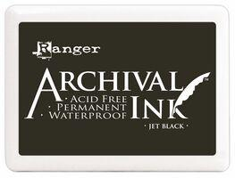 Archival Ink Pad Jet Black Ranger AIP31468
