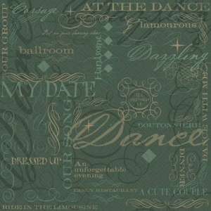 At The Dance Collage 12 x 12 Paper Karen Foster Design 60887