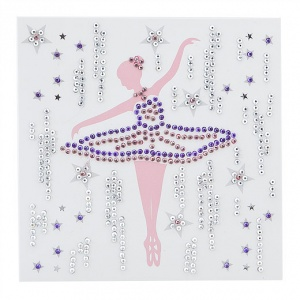 Ballerina Crystal Card Kit