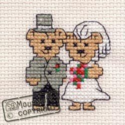 Bride and Groom Stitchlets Special Occasions Kit 014-544stl