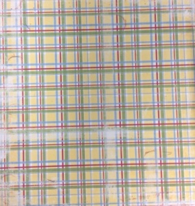 Butterfly Plaid 15204