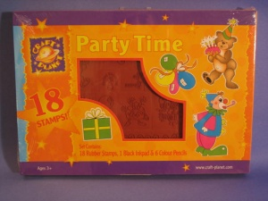 Craft Planet Foam Backed Stamp Set - Party Time
