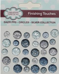 Dazzlers Circles Silver Collection Creative Expressions DAZMIXSILVER