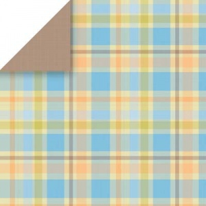 Dorm Plaid Scrapbook Paper Scrapbook Walls 24304