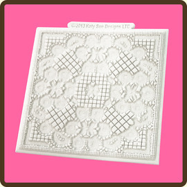Duchess Lace Texture Design Mat DM13 Katy Sue Designs