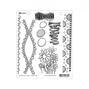Dylusions Anatomy Of A Page Stamps DYR53644