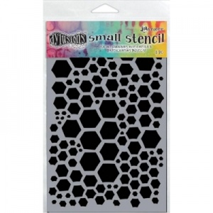 Dylusions Honeycomb Stencil Small 5'' x 8'' DYS47094