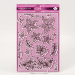 Exotic Flourish Stamp Set Dawn Bibby Collection