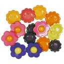 Flower Power Buttons