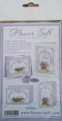 Flower Soft Lavender Baskets & Barrows