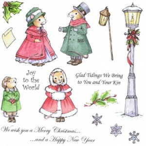 Glad Tidings Stamp Set Cute Companions