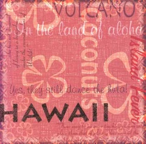 Hawaii Collage by Karen Foster Design 60812