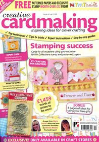 Issue 42 Creative Cardmaking Magazine With Free Stamp