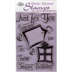 Just For You Clear Choice Mini Stamps - MIN-CCS115