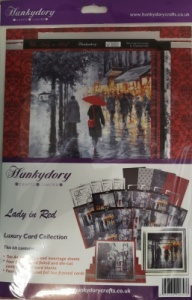 Lady in Red Luxury Card Collection