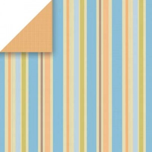 Large Dorm Stripe Scrapbook Walls Chatterbox 24302