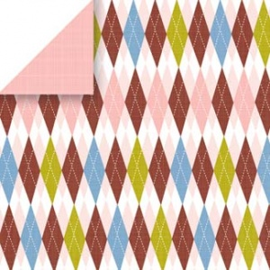 Nook Argyle Scrapbook Walls 24510