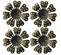 Petal Flowers Set of 4 AC0143E