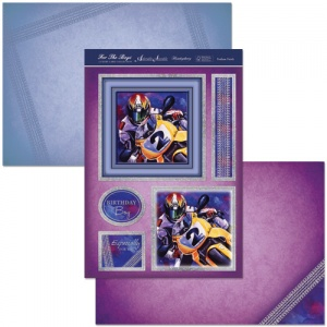 Podium Finish Motorbike Racing Card Kit For The Boys Collection ALL929