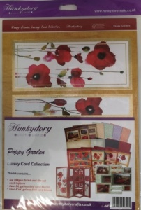 Poppy Garden Luxury Card Kit Collection