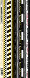 Road Markings Border Stickers CB039P