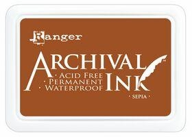 Sepia Archival Ink Pad Ranger AIP31505