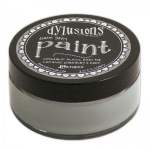 Slate Grey Dylusions Paint DYP52753