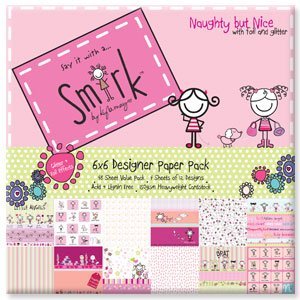 Smirk Naughty But Nice 6'' x 6'' Paper Pad