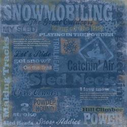 Snowmobiling Collage 60874
