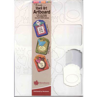 Stack Art Chippies Artboard Stampendous JL730 SA001