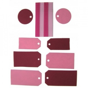 Tags And Ribbons Pink AC0082C