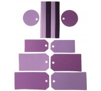 Tags and Ribbons Violet AC0082V