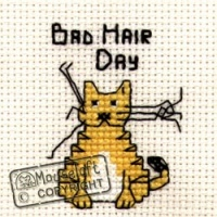 Bad Hair Day Biscuit The Cat Cross Stitch Kit