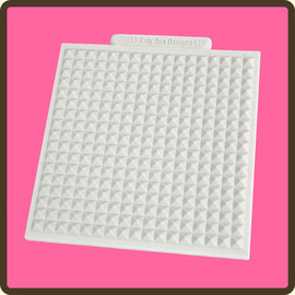 Waffle Texture Design Silicone Mat DM3 Katy Sue Designs